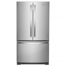 25 Cu. Ft. Whirlpool 36-inches French Door Refrigerator with Crisper Drawer